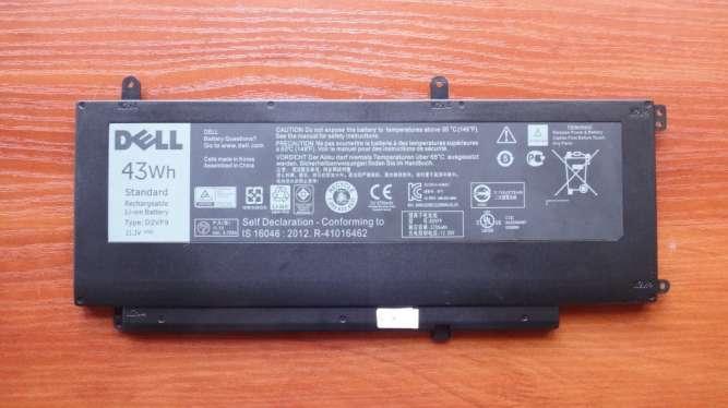 Оригинальный аккумулятор / батарея Dell Inspiron 15 7547 D2VF9 43Wh