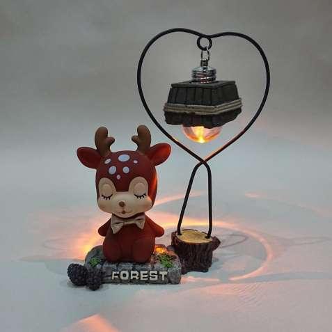 """Декоративный светильник """"Оленёнок коричневый"""", лампа,ночник"""