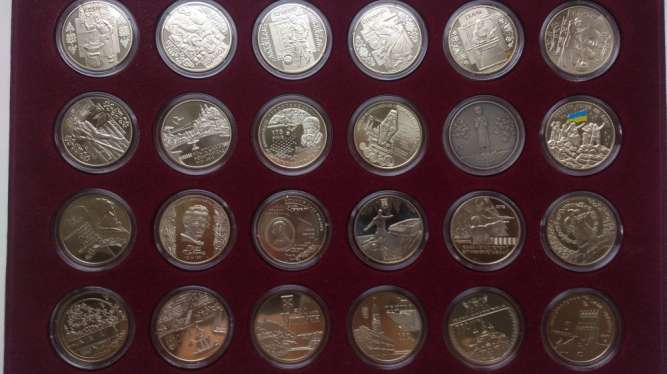 Колекція Пам'ятних монет України / НБУ/ Монеты Украины/ Продажа /Обмен