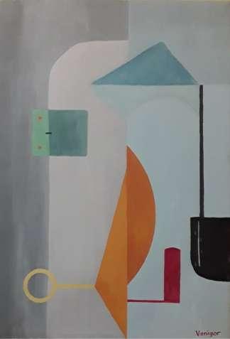 """Картина """"Врата"""". Абстракция."""
