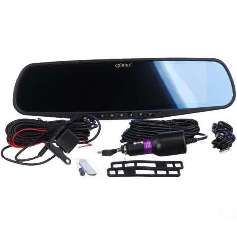 Видеорегистратор зеркало EPLUTUS D-10 (2 камеры)