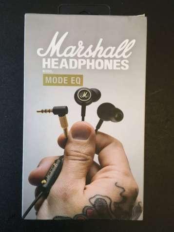 Наушники-гарнитура Marshall Mode EQ Black