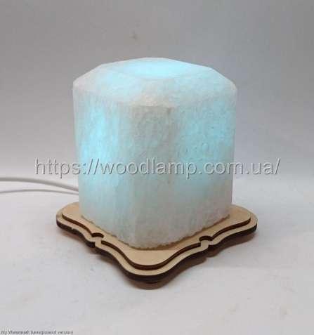 Соляной светильник Восьмигранник маленький, лампа, ночник