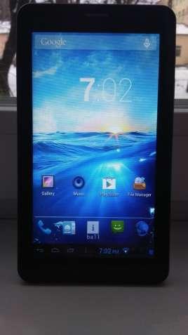 Продам планшет-телефон iBall Slide Series 7236 3G17! 2 Sim Звонит!GPS!