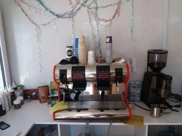 Кофемашина San Marco 95 с кофемолкой и набором для варки кофе