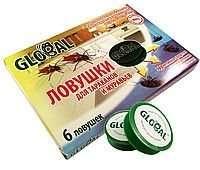 Ловушки для тараканов и муравьев Глобал! Бьют наповал !!! 6 штук в уп