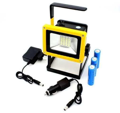 Аккумуляторный прожектор 100W Bailong BL-204 Фонарик ручной, фонарь