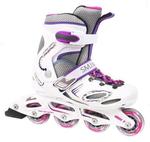 Роликовые коньки SMJ Sport CRK8B Girl 28-31