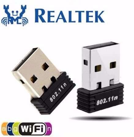 Сетевой мини адаптер (раздача и прием) USB WiFi 802.11n (150Mbit)