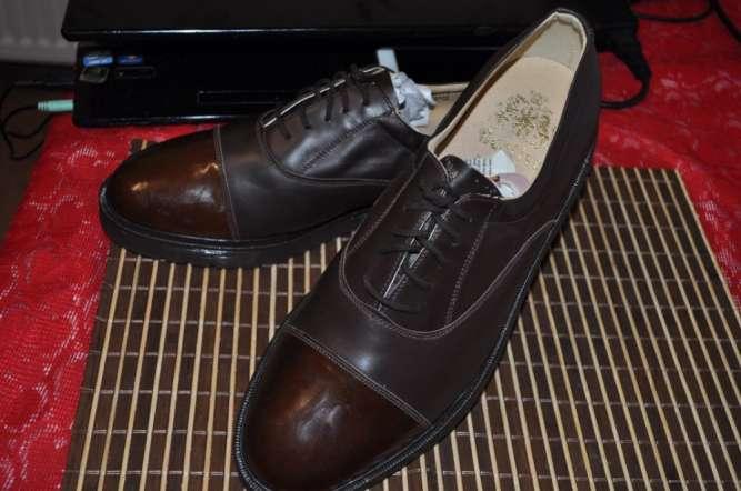 Сногшибательные! Туфли bective 46р-р супер модельная классика.  оригин