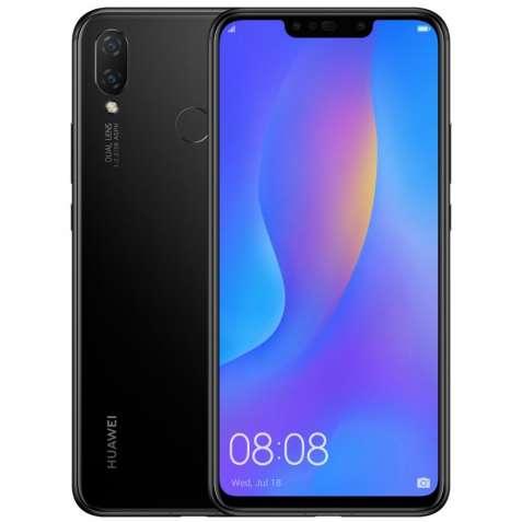 Смартфон HUAWEI P smart+ 4/64GB Black (51092TFB)