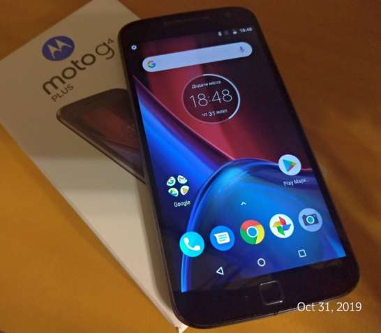 Смартфон Motorola G4 plus