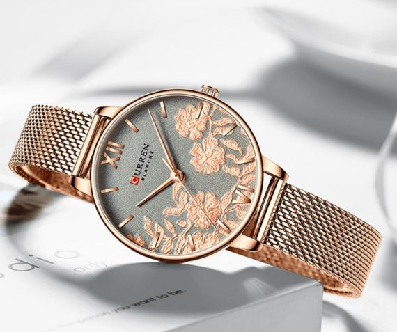 Женские кварцевые часы Curren 9065
