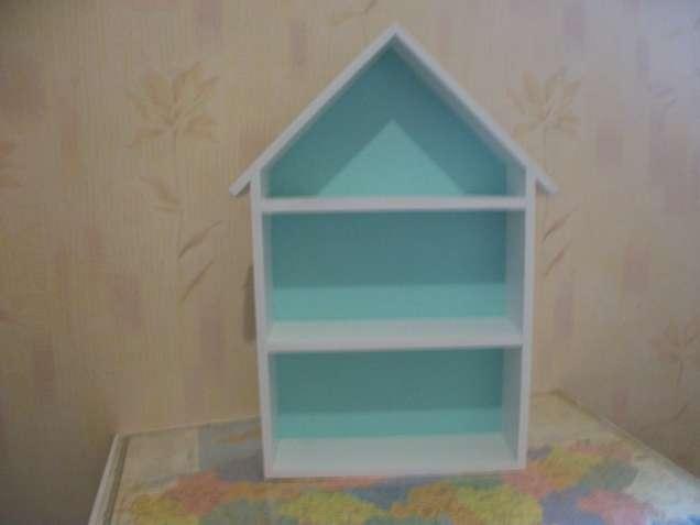Мебель для прихожей .Детские полки. Книжные . Кухонные  Полка -домик .