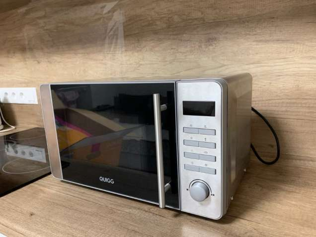 Новая микроволновая печь из нержавеющей стали Quigg MD 18666 (Германия