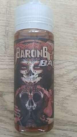 Жидкость для электронных сигарет Barong 120 ml