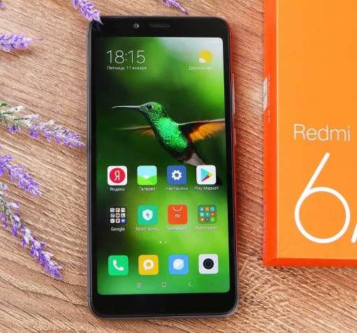 Xiaomi Redmi 6a 2/16GB Dark Grey