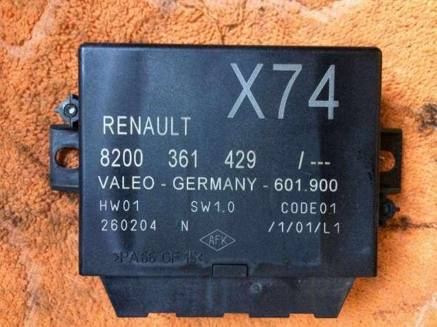 Б/у блок управления парктроником Renault Laguna 2, 8200361429,