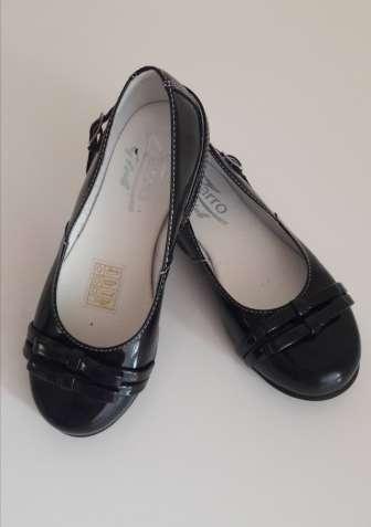 Кожаные лаковые туфли. Состояние новых