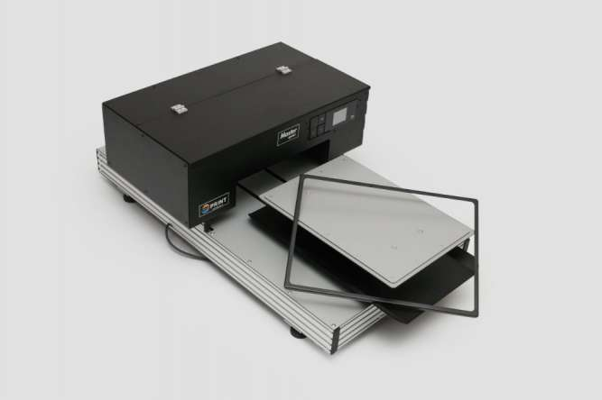 Текстильный планшетный принтер для прямой печати Master sprint
