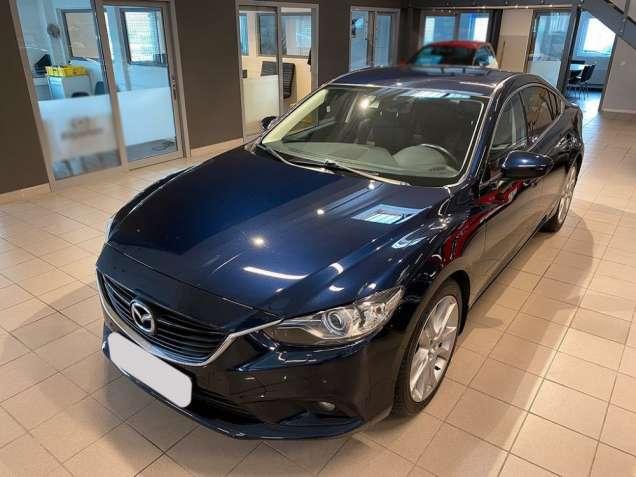 Mazda 6 2.2 синий