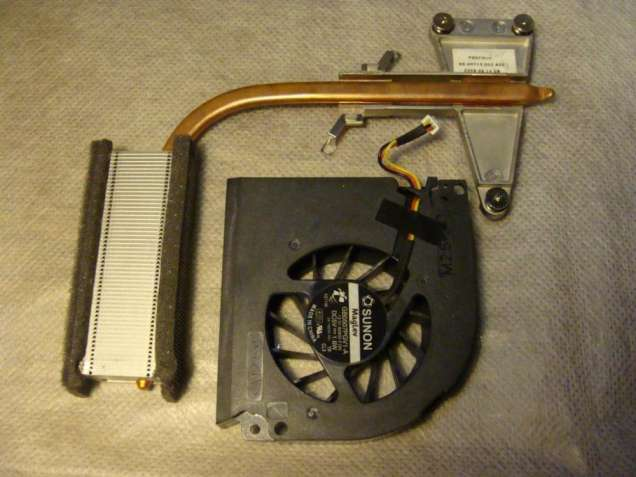 Продам систему охлаждения с ноутбука Fujitsu Amilo Pa 3515