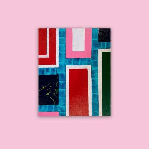 """Продам картину """"Прямоугольне небуття-2"""" (2018)"""