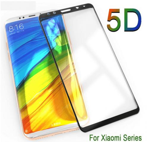 5D стекло для Xiaomi Redmi Note 6 Pro Mi 8 SE Pro A2 Lite Pocophone F1