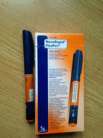 Новорапид Флекспен шприц-ручки с картриджем (Novorapid Flexpen), 3 мл.