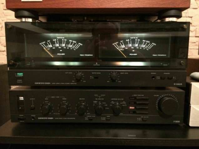 Продам двойку Onkyo Integra M-5060r / P-3030 .
