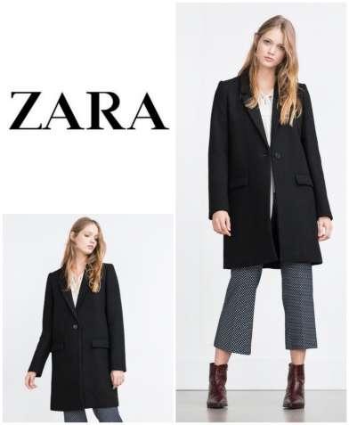 Zara пальто бойфренд объемного кроя оверсайз те...  2 000 грн - Мода ... ad894af3a4cb9