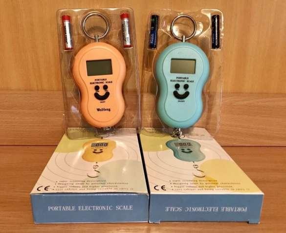 Портативные электронные весы кантер до 50 кг