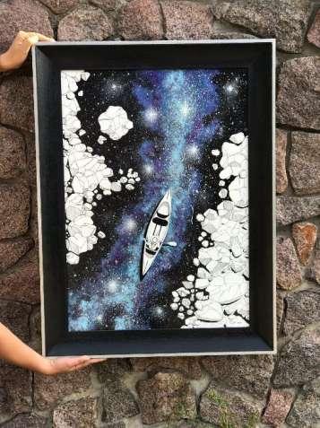 """Картина """"Млечный путь"""""""