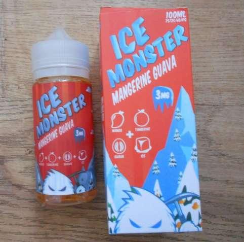 Жидкость  для электронных сигарет Ice Monster 100ml  3 мг