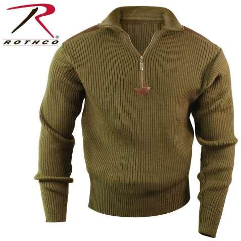 Свитер Rothco Commando sweater o.d.