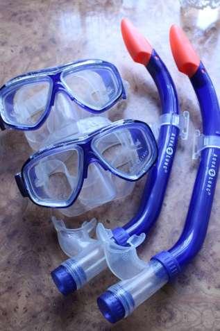 Маска+Трубка Aqua Lung Набор Для для дайвинга.Германия.