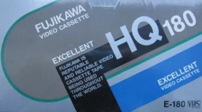 Новые видеокассеты Fujikawa VHS E-180 Япония