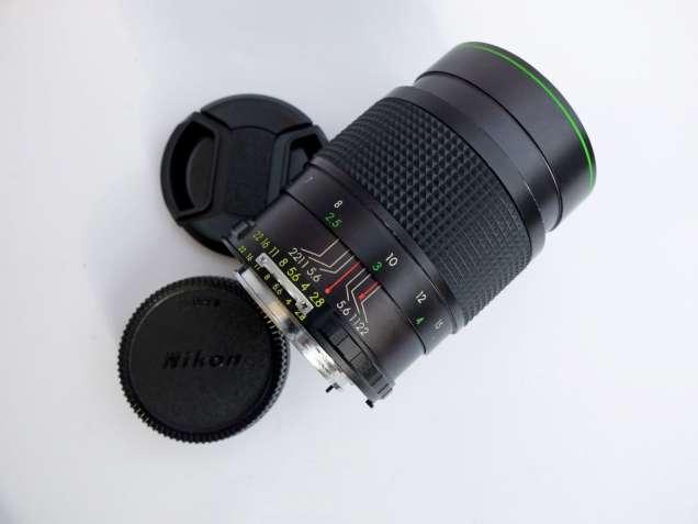 Hanimex MC 135/2.8 Nikon Ai