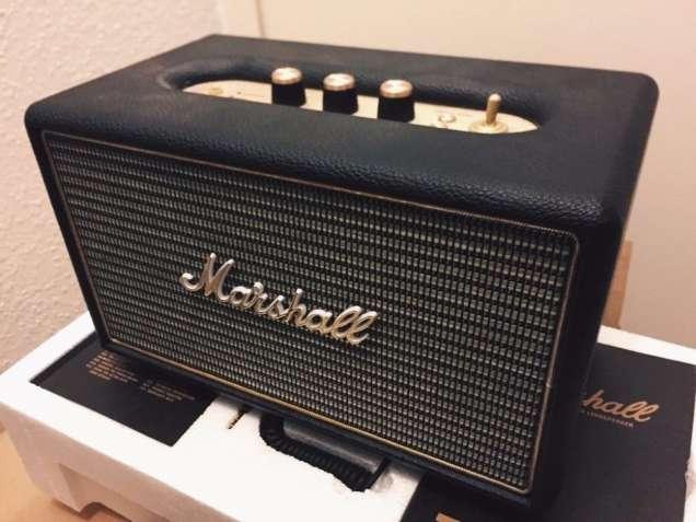 Marshall Lifestyle портативная акустика и наушники