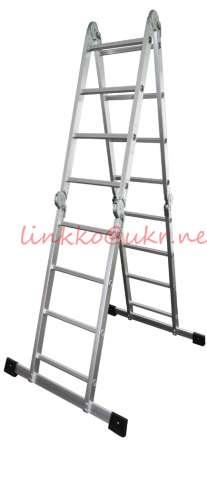 Драбина-трансформер алюмінієва 4х5(професійна)лестница-стремянка