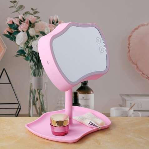 Настольная лампа 2 в 1 Mirror Lamps+Косметическое зеркало с Сенсорным