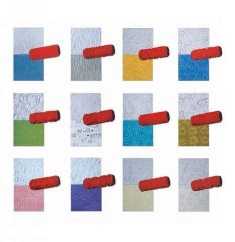 Валики структурно-фактурные для декора (резиновые)- 124 видов рисунка