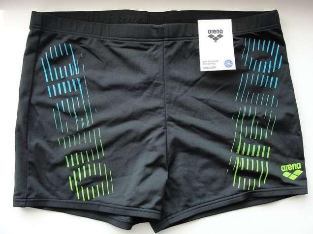 Плавки-боксеры Arena M Flash Short (Черные с логотипом)