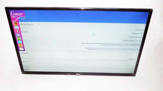 "LCD LED Телевизор Comer 32"" Smart TV, WiFi, 1Gb Ram, 4Gb Rom, T2, USB"
