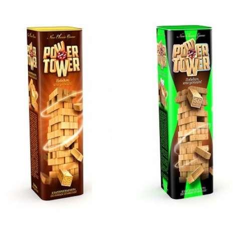 Настольная игра POWER TOWER, Джанга, Башня, Данко Тойс