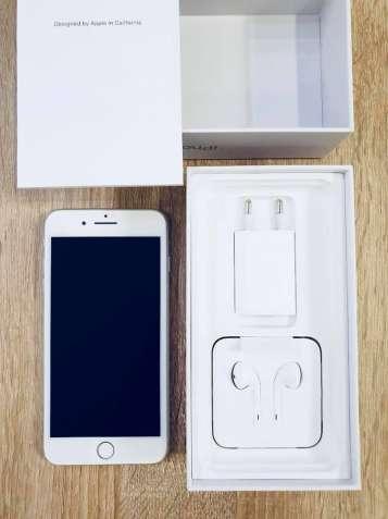 iPhone 8 plus 64 gb Silver Neverlock в отличном состоянии