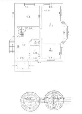 Продаю /меняю недостроенный дом в Обуховском