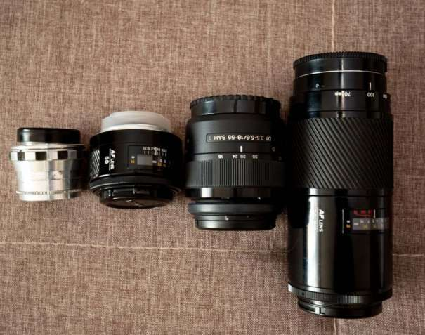 Комплект SONY a58+minolta 70-210 f1:4 + minolta 50 f1:1.7 + Godox600s - изображение 3
