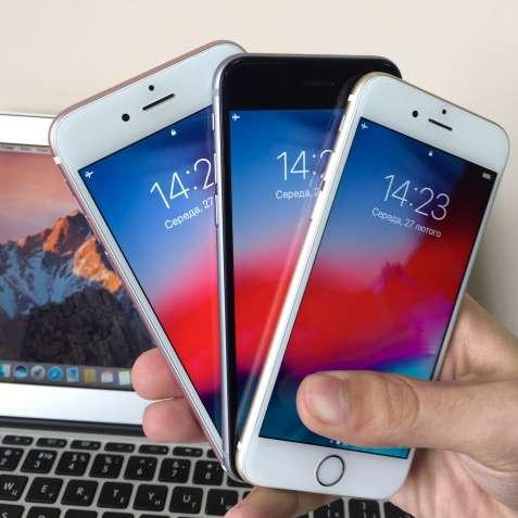 IPhone 6S Space Gray Rose Gold (Айфон 6С Чорний Розовий Золотий)
