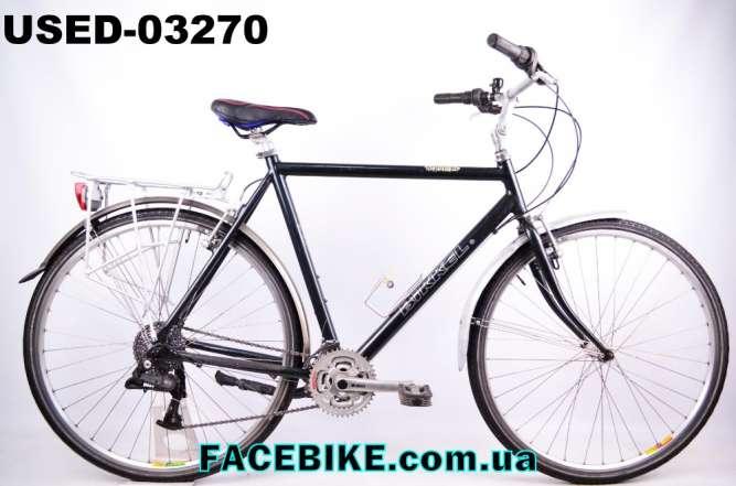 БУ Городской велосипед Bikkel-Гарантия,Документы-у нас Большой выбор!
